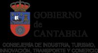 logo Gob Cantabria Indistria y Turismo traz